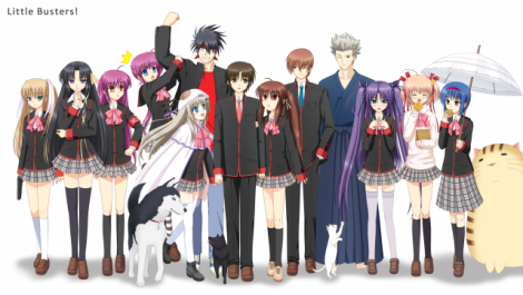 little-busters-group