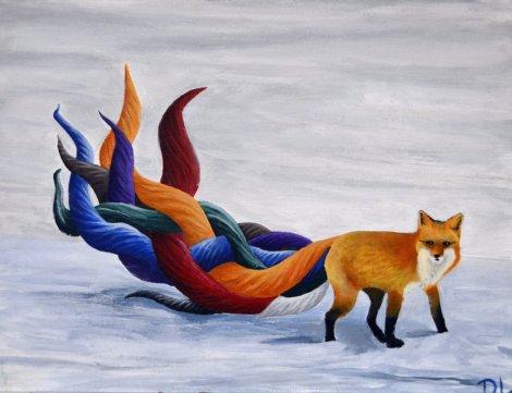 technicolored_fox_by_djlopes1126-d5ykfj5